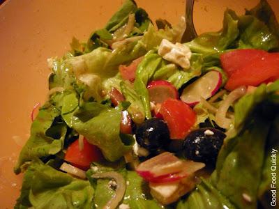 Salata și un desert special