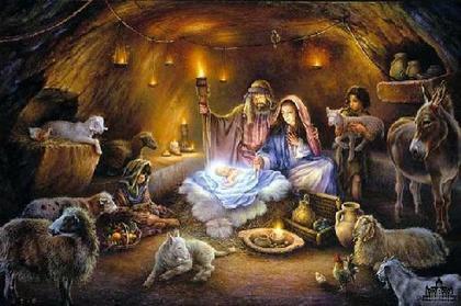 Картина на Рождество