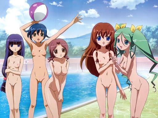 Manga-Mädchen