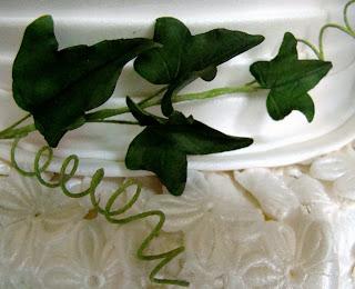 Gumpaste Ivy leaf Vines.