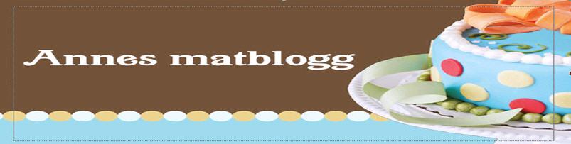 Annes blogg