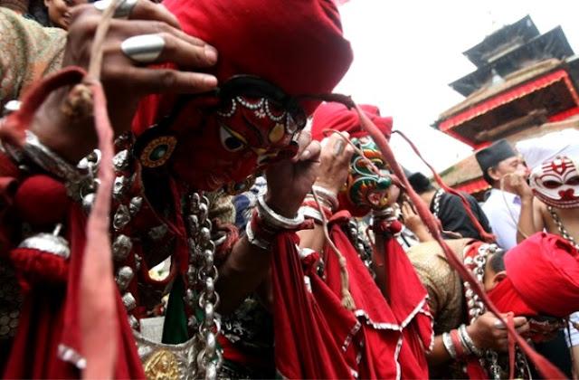 Фестиваль Джатра в Непале