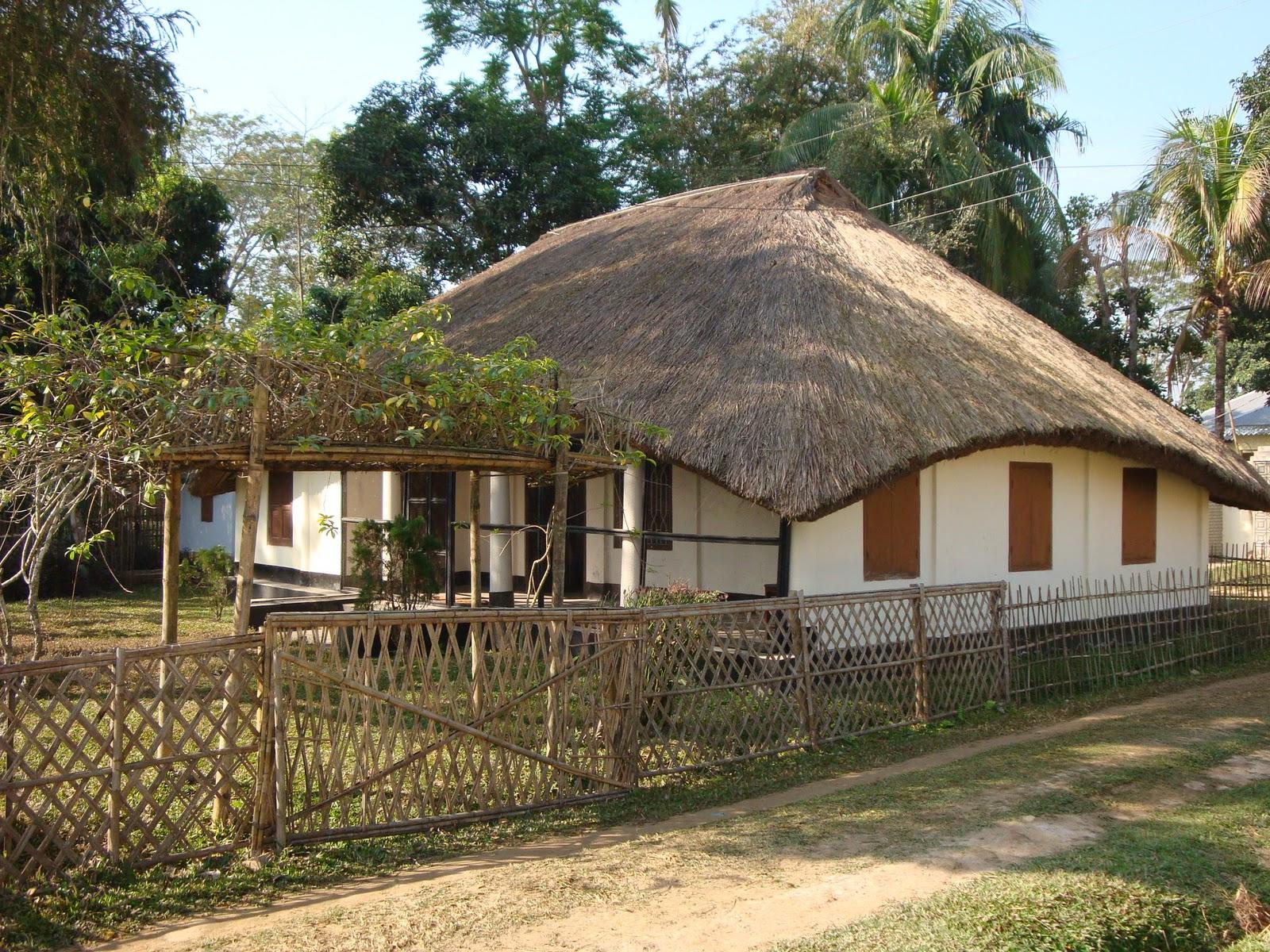 Bangladesh unlocked thatched cottages bangladesh for Bangladeshi house image