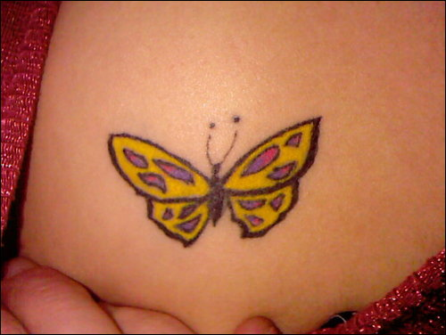 Labels: butterfly tattoo