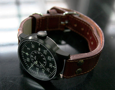 Laco Black Pilot Watch Limited 50 pcs.