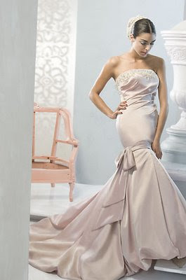 Wedding Gown Neutral Colors