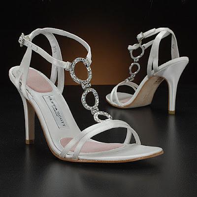 Filippa Scott White Wedding Shoes