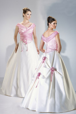 Other Colors in the Wedding Gown