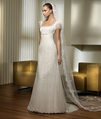 The Wedding Gown Dresses with Crystals.