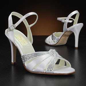 Wedding Shoes Elegant with Crystal Swarovsky.