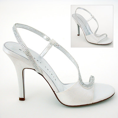 Wedding Shoes with Crystals