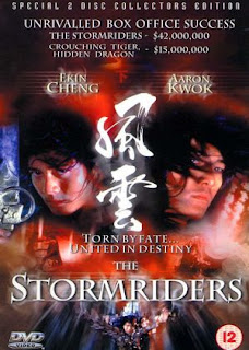Filme Poster The Storm Riders DVDRip XviD Dublado