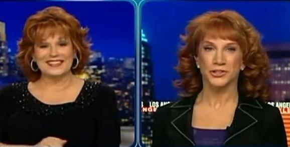 Kathy Griffin Interviews W/ Joy Behar of HLN