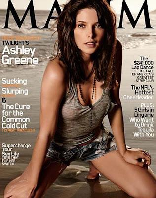Ashely Greene Hot Maxim Cover