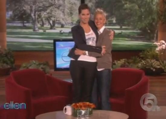 Blind Side Sandra Bullock Interview On Ellen Show