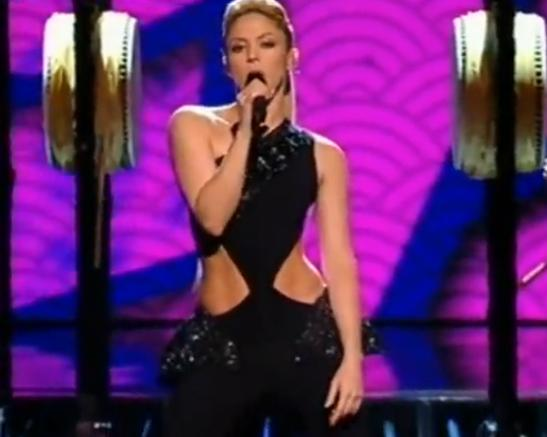Shakira Performs Did It Again On X Factor 2009