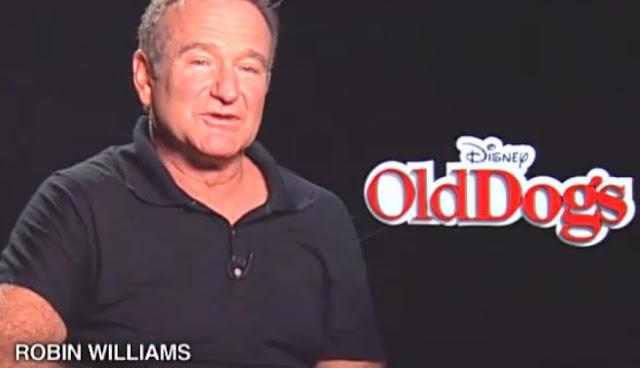 Robin Williams Talks Old Dogs