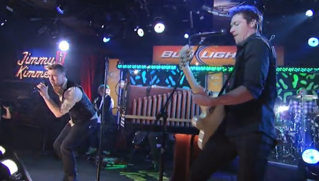 Onerepublic Performs All The Right Moves On Jimmy Kimmel Live