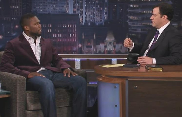 50 Cent On Jimmy Kimmel Live