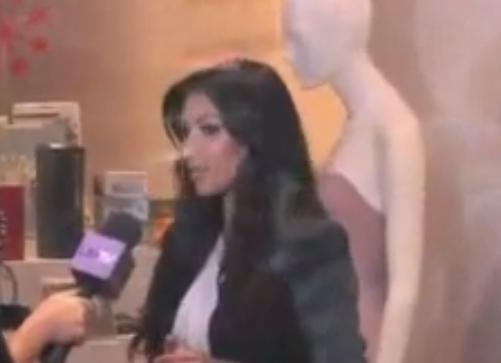 Kim Kardashian Shops Wither Her Mom