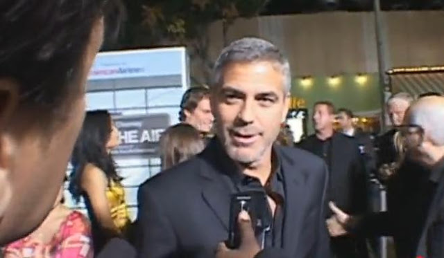George Clooney At Up In The Air Red Carpet Premiere
