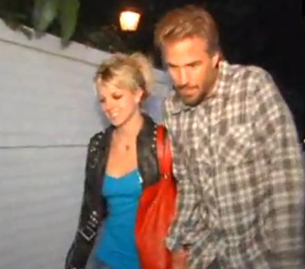 Britney Spears And Boyfriend Jason Trawick Walking To Hotel