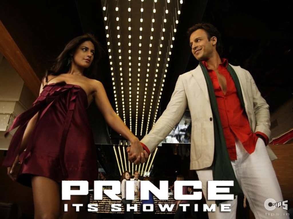 Nandana Sen And Vivek Oberoi Dancing In Prince Wallpaper