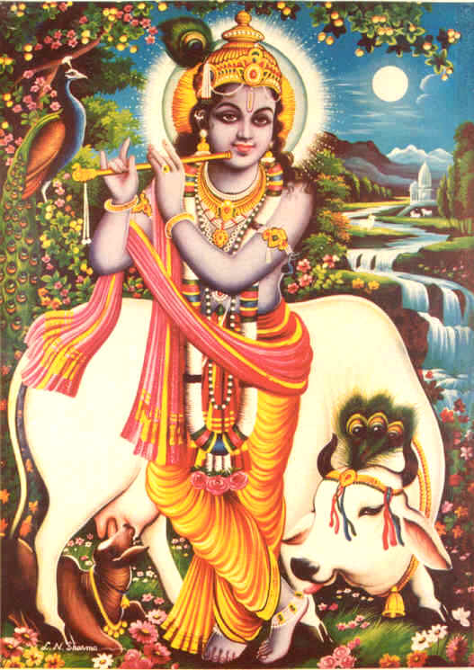 [Hare+Krishna+with+a+cow+at+Yamuna+River.jpg]