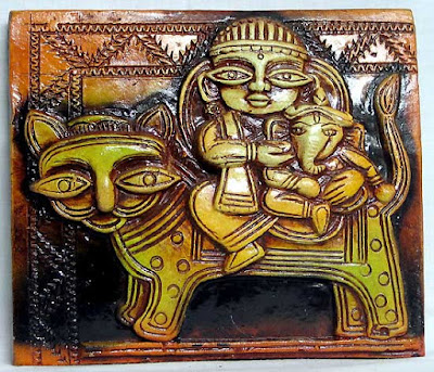durga wallpapers. Durga And God Ganesha