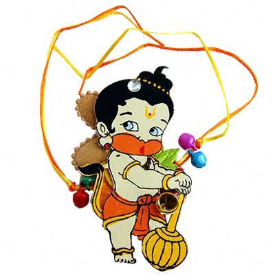 Rakhi For Children With God Hanuman