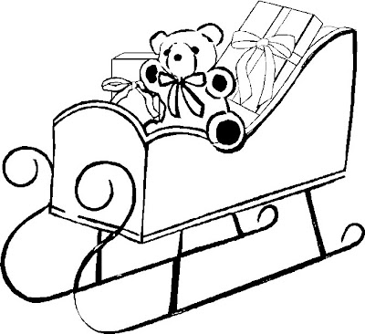 santa sleigh coloring pages. Coloring Page Santa Sleigh. Claus Santa Sleigh Pictures