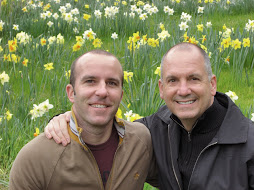 Brad and I at Filoli Gardens March 09