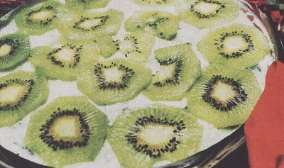 Kiwi Cheesecake with Spirulina