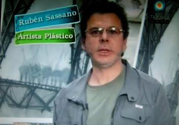 """Sassano Rubén. Nota del Programa """"Caja Rodante"""" TV publica."""