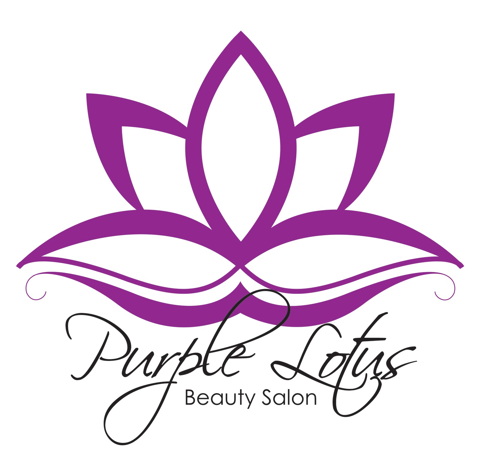 Purple Lotus Beauty Salon // Collateral   v.Ink
