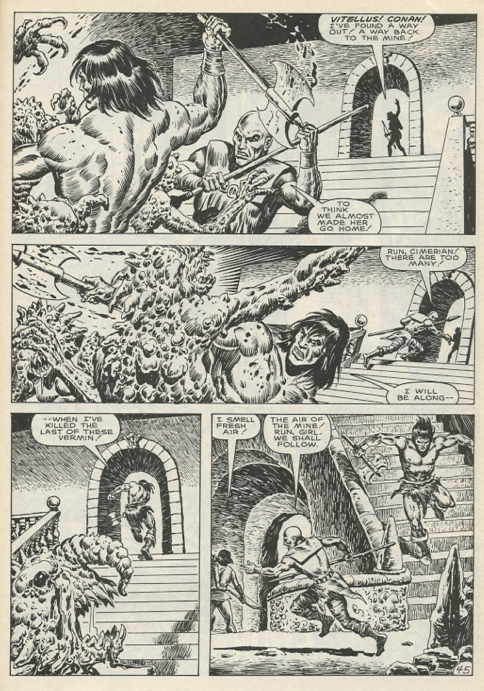 The Savage Sword Of Conan Issue #141 #142 - English 51