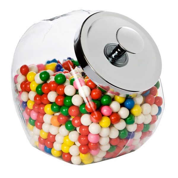 Candy Jar: Lux Umbra Dei: Decorating With Candy