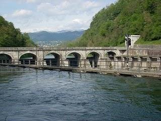Energia elettrica dai fiumi