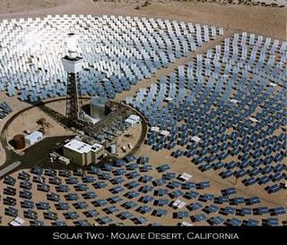 Impianto solare termodinamico di Carlo Rubbia