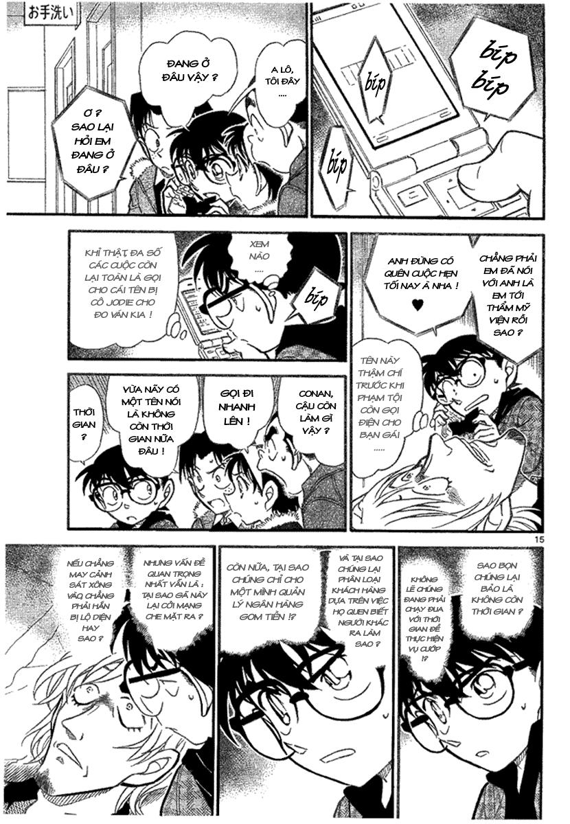 Detective Conan - Thám Tử Lừng Danh Conan chap 678 page 16 - IZTruyenTranh.com