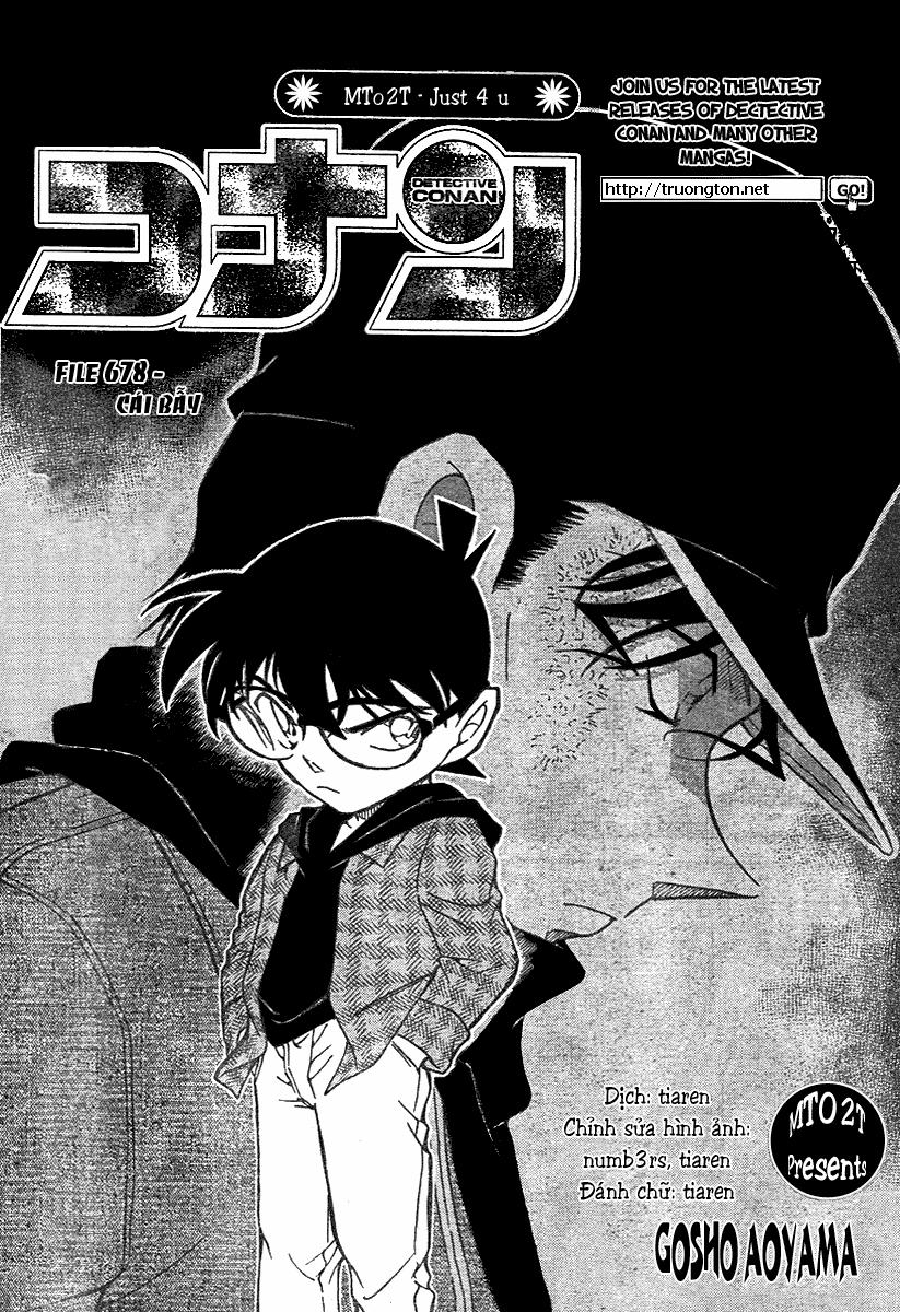 Detective Conan - Thám Tử Lừng Danh Conan chap 678 page 2 - IZTruyenTranh.com
