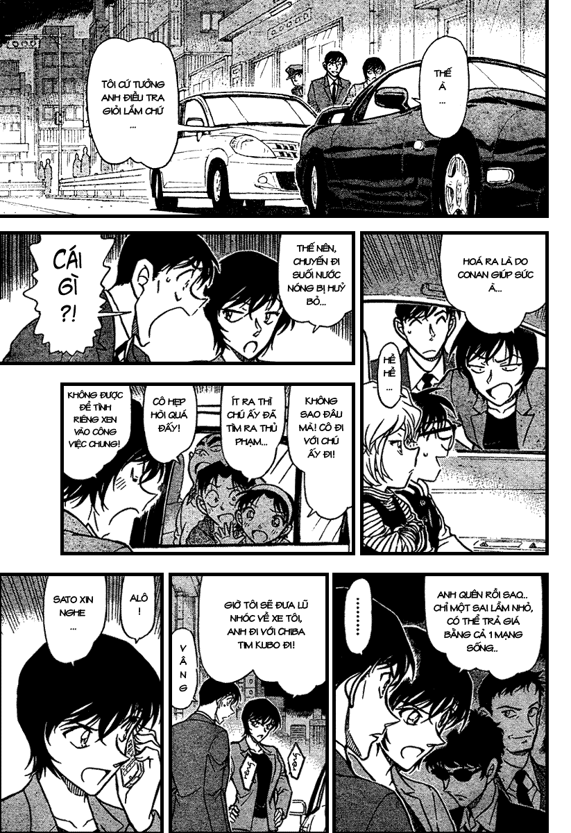 Detective Conan - Thám Tử Lừng Danh Conan chap 672 page 14 - IZTruyenTranh.com