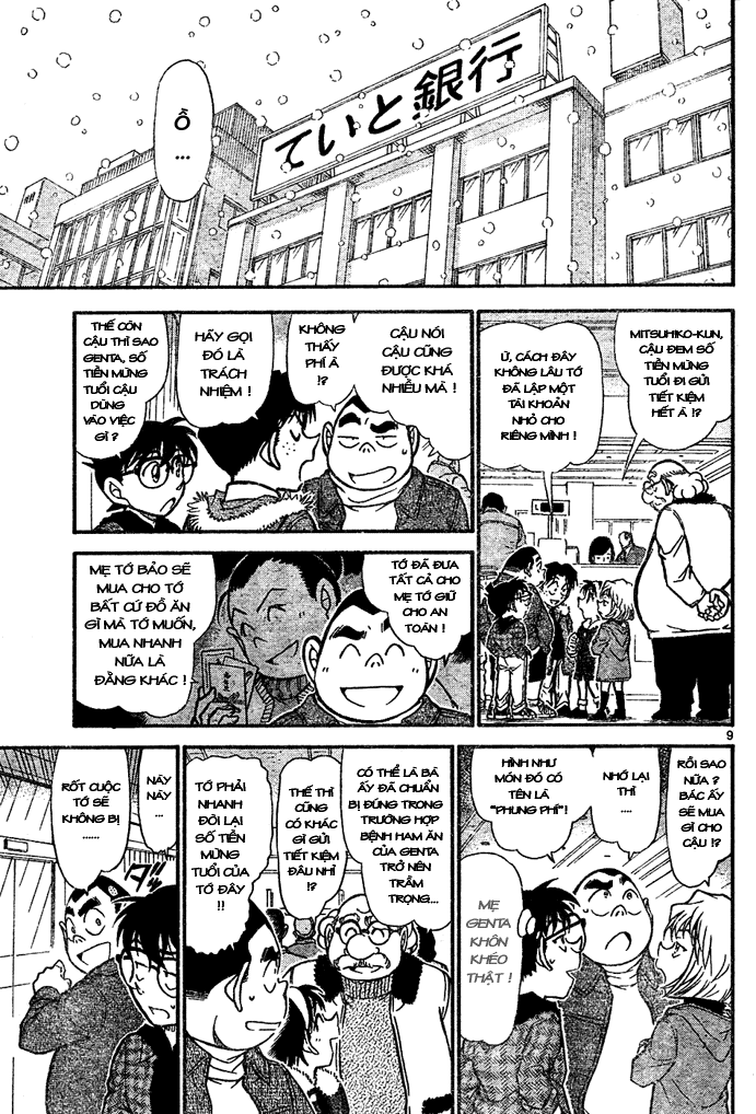 Detective Conan - Thám Tử Lừng Danh Conan chap 677 page 10 - IZTruyenTranh.com
