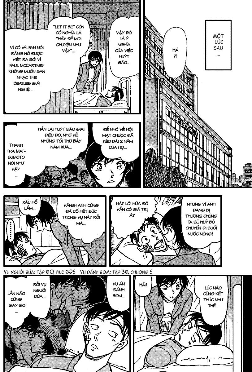 Detective Conan - Thám Tử Lừng Danh Conan chap 673 page 15 - IZTruyenTranh.com