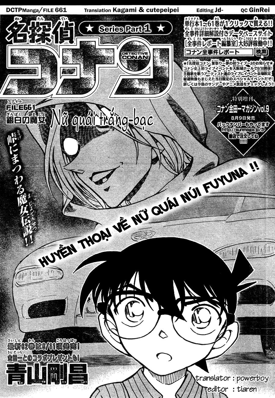Detective Conan - Thám Tử Lừng Danh Conan chap 661 page 1 - IZTruyenTranh.com