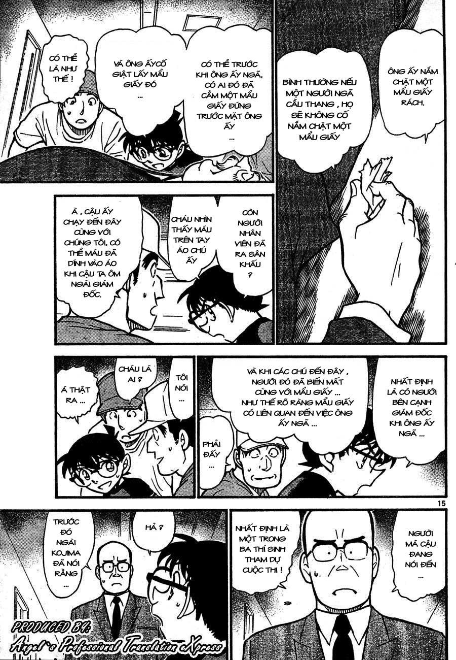 Detective Conan - Thám Tử Lừng Danh Conan chap 658 page 15 - IZTruyenTranh.com