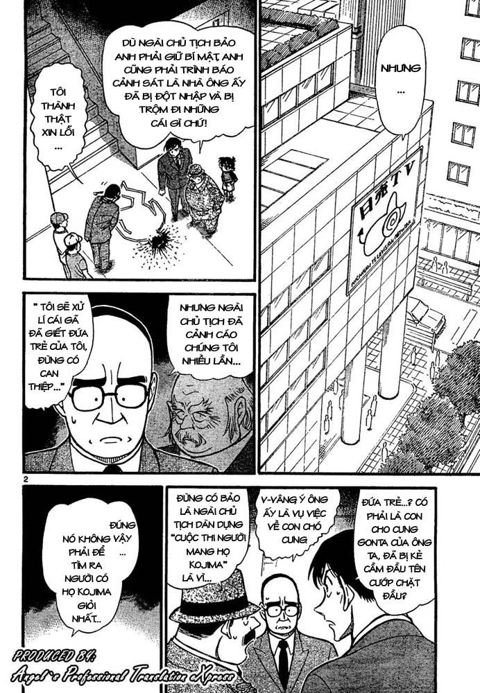 Detective Conan - Thám Tử Lừng Danh Conan chap 660 page 3 - IZTruyenTranh.com
