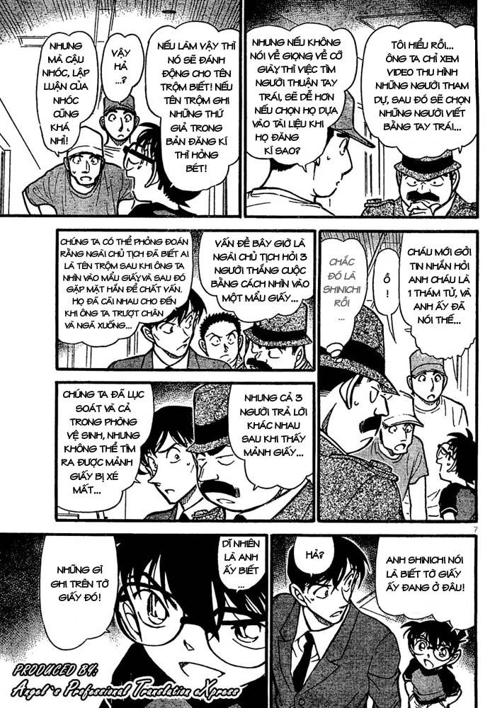 Detective Conan - Thám Tử Lừng Danh Conan chap 660 page 8 - IZTruyenTranh.com