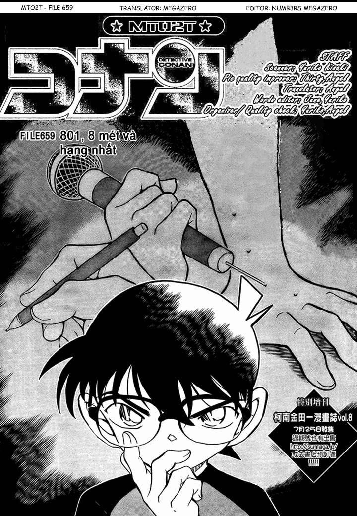 Detective Conan - Thám Tử Lừng Danh Conan chap 659 page 2 - IZTruyenTranh.com