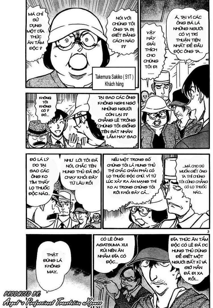 Detective Conan - Thám Tử Lừng Danh Conan chap 657 page 3 - IZTruyenTranh.com